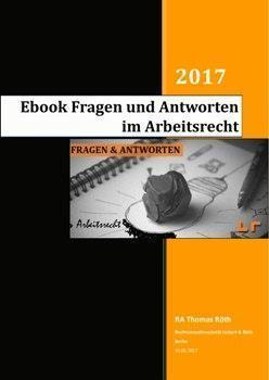 Ebook cover FA Arbeitsrecht Liebert Roeth Berlin frei